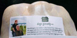 Pollo svedese